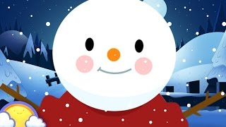 Five Little Snowmen | Christmas Nursery Rhymes for Children | CheeriToons