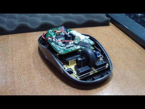 Мышка своими руками аккумулятор