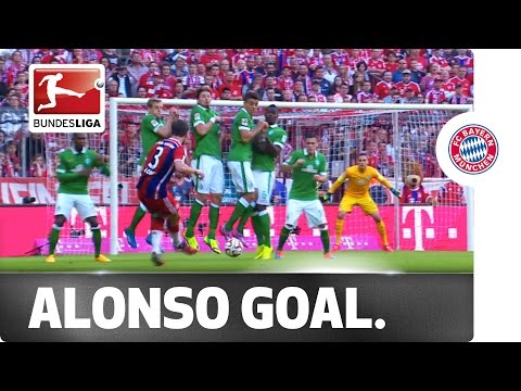 Under The Wall - Xabi Alonso's Cheeky Free-Kick