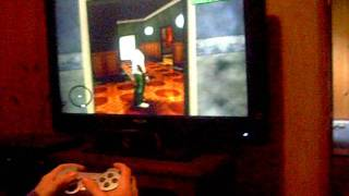 PS2 Sony Playstation 2 Slim Silver Edition - GTA Bundle