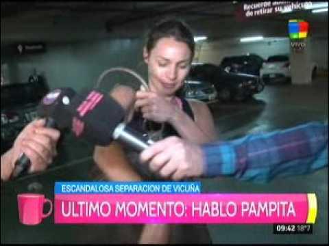 Pampita habló de los audios con Benjamín Vicuña