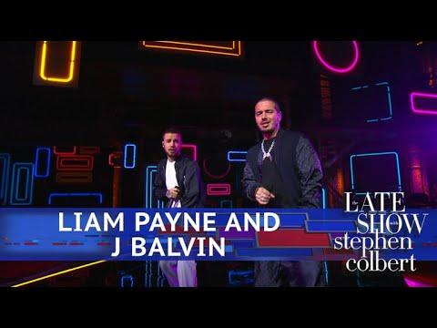 Liam Payne And J Balvin Perform 'Familiar'