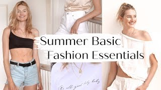 Model Must Have Fashion Basics | Closet Tour, Affordable Essentials, & Best Basics | Sanne Vloet