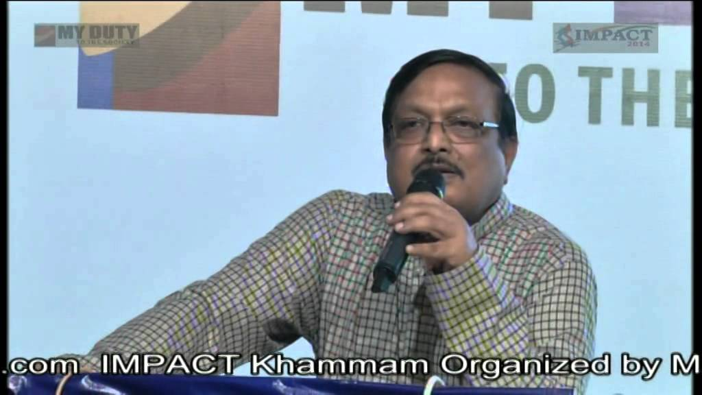Sri Yandamoori Verrandranath Garu at Khammam IMPACT 2014 - YouTube