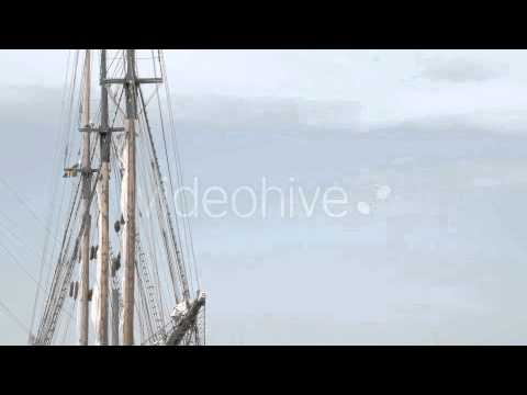 Stock Footage - Ship on Dock on the Harbour | VideoHive