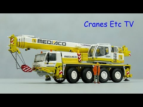 WSI Tadano ATF 70G-4 Mobile Crane 'Mediaco' by Cranes Etc TV