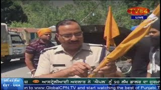 Nishan Sahib forcefully removed by Uttrakhand Police - Gurcharan Singh Babbar (Journalist - Delhi)