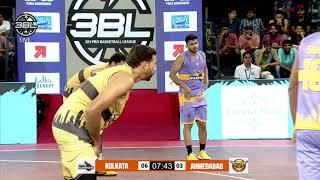 Ahmedabad Wingers v Kolkata Warriors - Conference B - 3BL S02 R02