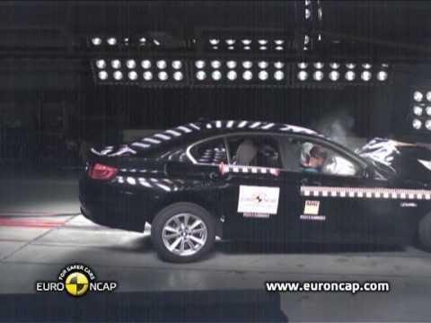 Краш-тест BMW 5 Series Euro NCAP 2010