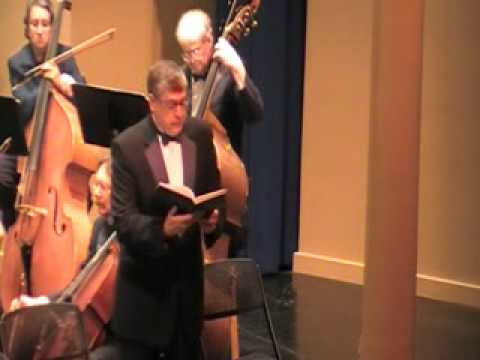 He That Dwelleth in Heaven, Thou Shalt Break Them, Handel's Messiah, Tim Ahern Soloist