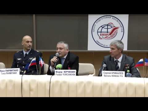 Expedition 36/37 Crew Takes Questions from Media