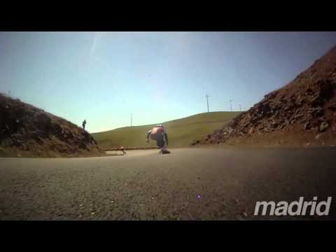 Raw Run: Madrid Pro Zak Maytum Boardcam at Maryhill