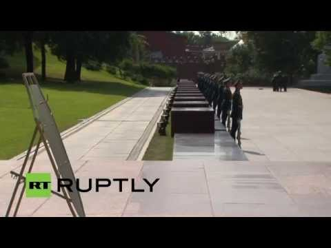 LIVE: Egypt's President Abdel Fattah al-Sisi to lay flowers to Eternal Flame in Moscow