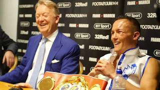WARRINGTON VS SELBY POST FIGHT FULL PRESS CONFERENCE