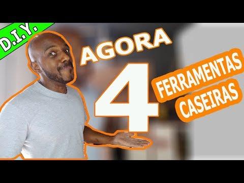 D.I.Y. 4 FERRAMENTAS CASEIRAS DE GRANDE UTILIDADE - FAÇA AGORA MESMO