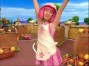 LazyTown Bing Bang MeGa TechNO ReMix Christmas Cake Candy Fun Words Dancing Pink Hardcore Stephanie