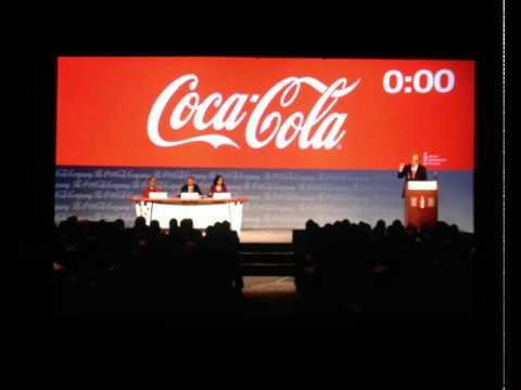 Ray Rogers at Coca-Cola's 2015 annual meeting (Part 1)
