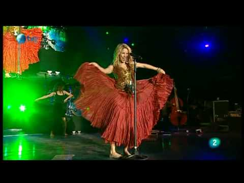 Shakira - Gitana (Rock in Rio Madrid 2010)