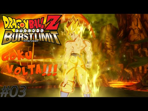 Dragon Ball Z Burst Limit - #03 - Kaioken Times 4