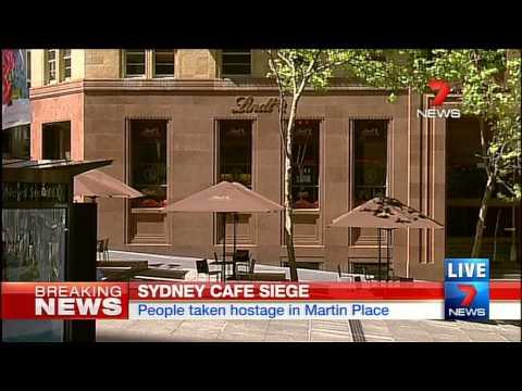 Sydney Hostage Siege - PT 1 | Seven News | 15/12/2014