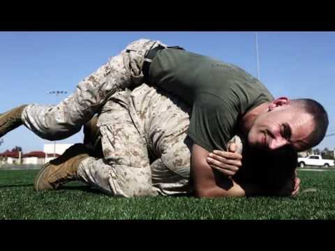MilitaryMixedMartialArts.com - Instructor leads fight with MCMAP Image 1