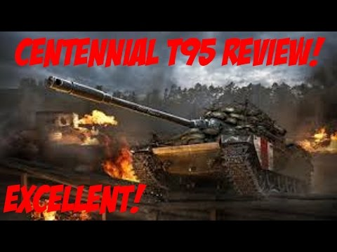Centennial T95 Hero Tank Review!! - World of Tanks Console Xbox One