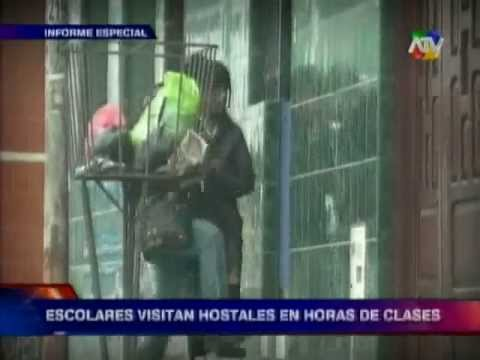 Tuteve.tv / Informe Especial: Hostales y escolares