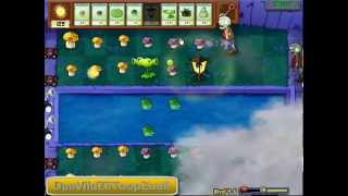 "Plantas Vs Zombies ""Nivel 4-6"""