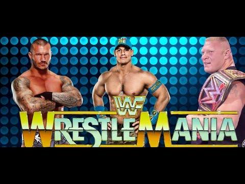 Major Wwe Wrestlemania 31 Backstage News On Turning Points For John Cena Randy Orton & Brock Lesnar! video
