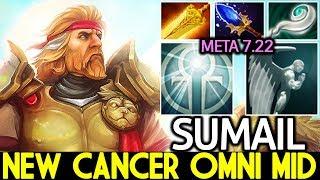 SumaiL [Omniknight] New Cancer Omni Radiance Mid Lane WTF Plays 7.22 Dota 2