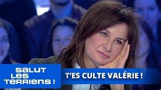 T'es culte ! Valérie Lemercier - Salut les Terriens