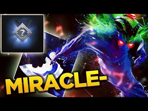 Miracle- First Game on New Ranked System - Dagger Morphling Meta? [Dota 2]