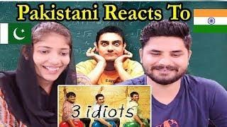 Pakistani Reacts To   3 Idiots Official Trailer   Aamir Khan   Kareena Kapoor   Boman Irani.