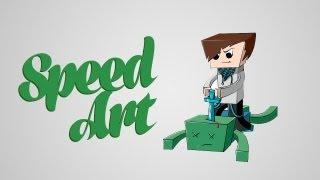 Minecraft SpeedArt - Lololoshka [Лололошка]