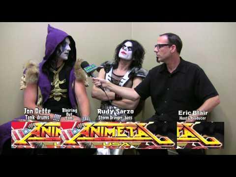 Animetal USA's Rudy Sarzo&Jon Dette talk W Eric Blair 2012