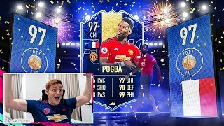 OMFG WHAT A PACK!!! HUGE FIFA 19 TOTY MIDFIELDER PACK OPENING!!!