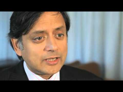 Shashi Tharoor, India video