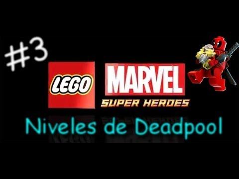 LEGO Marvel Super Heroes | Nivel Deadpool 3: Locos por el Ajedrez (Español-1080p)