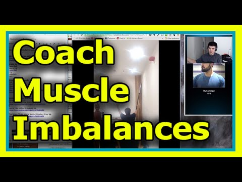 Knee pain and foot pain: Muscle Imbalances Live Coaching Video Assessment