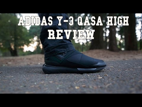 Y-3 Qasa High Black Review + On Feet (adidas)