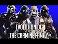 Evolution of The Carmine Family | Gears of War 1-4 (2006-2016) | HD
