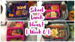 School Lunch Ideas!    Week 6 🧀