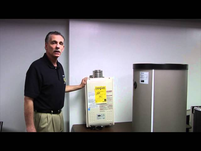 Differences between tankless and storage water heaters