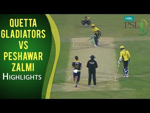 Psl 2017 Final Match Quetta Gladiators Vs Peshawar Zalmi Mini