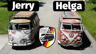 Volkswagen Bus Tour - Meet Jerry the Bus and Helga the Bus!