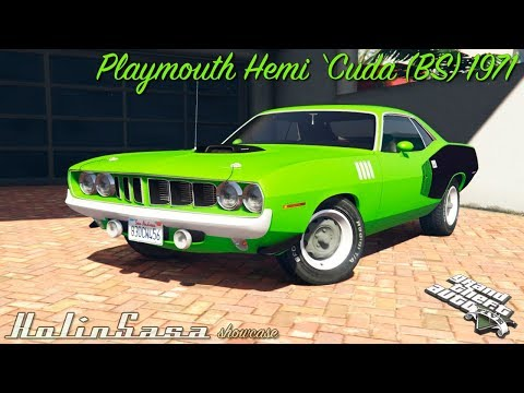 Playmouth Hemi Cuda (BS) 1971 [replace]