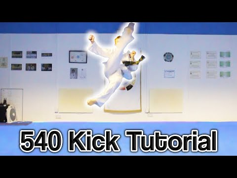 Taekwondo 540 Kick Tutorial