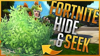 HIDE&SEEK - VERSTECKEN MIT MCKY | Fortnite Battle Royale