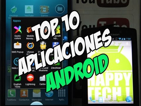 10 aplicaciones para android gratis | Top 10 android apps - Happy Tech android