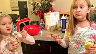 WE MESSED UP THIS RECIPE BAD! EPIC DESSERT FAIL!